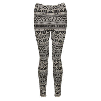 View Item Cream Knitted Aztec Leggings